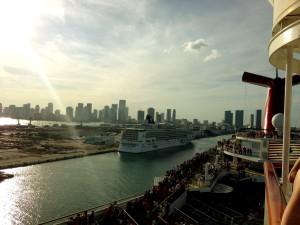 Hafenausfahrt Miami